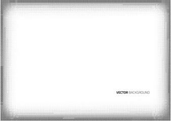 Vector frame halftone dots