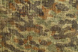 Closeup photo of camouflage pattern