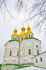 Famous Pechersk Lavra Monastery in Kiev, Ukraine