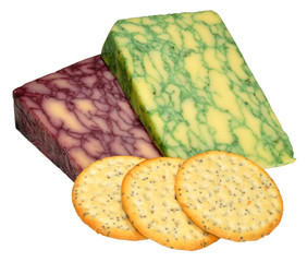 Sage And Port Wine Derby Cheeses