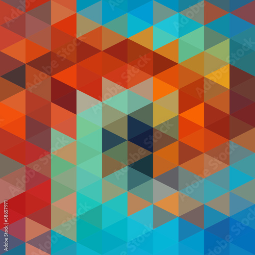 Triangles Background - 58657971