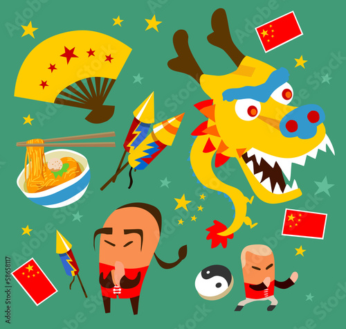 Chinese culture set
