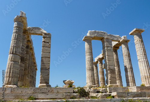 Temple of Poseidon in Sounio Greece