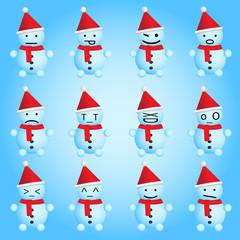 Snowmen smilies