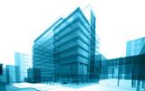 Fototapety transparent building