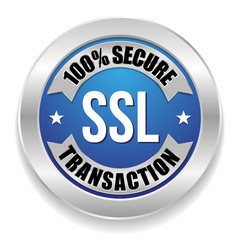 Blue SSL secure transaction seal