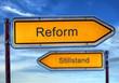 Strassenschild 1 - Reform