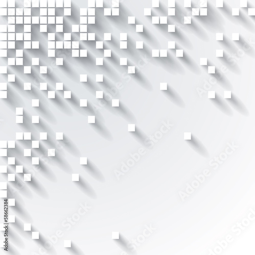Abstract 3D Cube Design