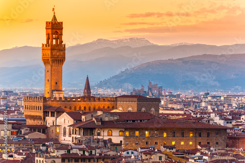Palazzo Vecchio, Florence, Italy. - 58662914