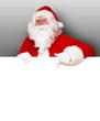 Weihnachtsmann Postkarte