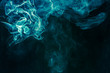 Bluish-green smoke - 58665368