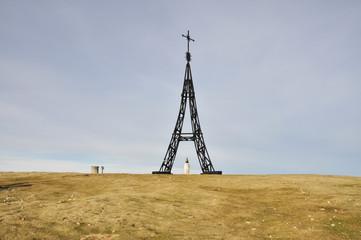 Cruz del monte Gorbea, País Vasco (España)