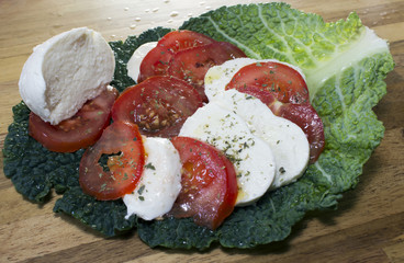 Plat - Tomates mozzarella