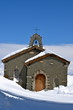 Alpine Church on Gornegrat, Zermatt, Switzerland