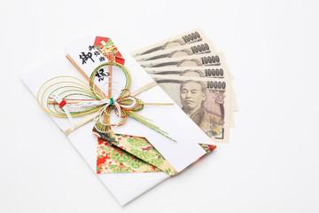 五万円とご祝儀袋