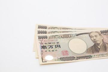 一万円札3枚