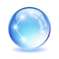 Glittering ball