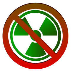 No Radioactive symbol