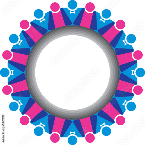 Communication and network concept stock vector