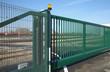 portail et clôture en grillage - 58674779