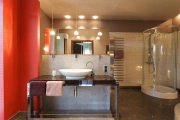 Elegant and stylish bathroom