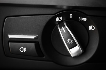 Headlights button