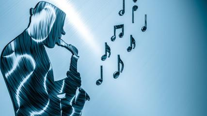 Saxophonist Background