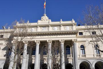 Edificio de la Bolsa de Madrid (España)