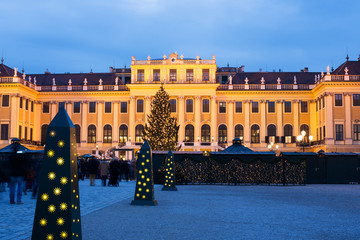 Schönbrunn Wien - Weihnachtsmarkt