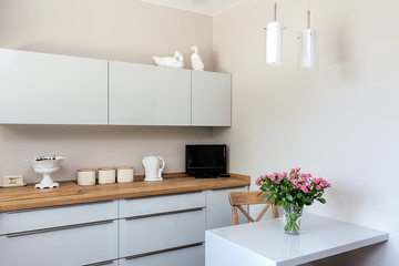 Bright space - kitchen corner