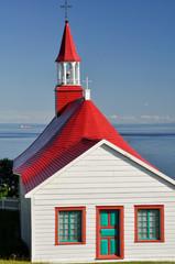 Tadoussac chapel, Quebec (Canada)