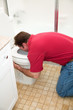 Man Vomiting in Toilet