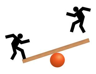 Stabilità - instabile - precario - traballante