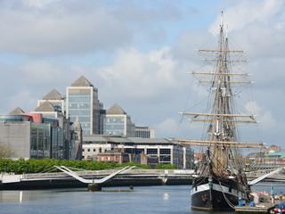 Dublin - Liffey river