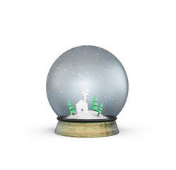 christmass glass ball