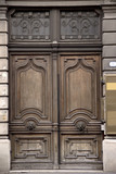 Old massive door