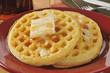 Hot buttered waffles