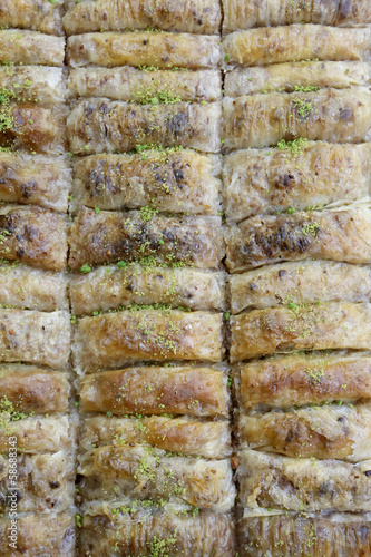 Baklava from Turkish cuisine