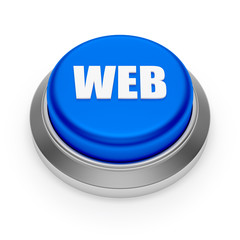 Big blue web button