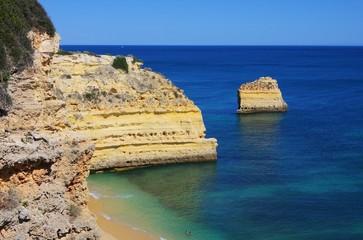 Algarve Strand Marinha - Algarve beach marinha 01