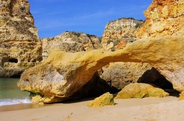 Algarve Strand Marinha - Algarve beach marinha 16