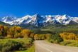 Leinwandbild Motiv Road in Colorado