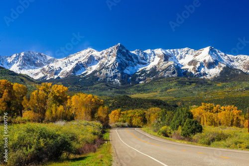 Road in Colorado - 58691776