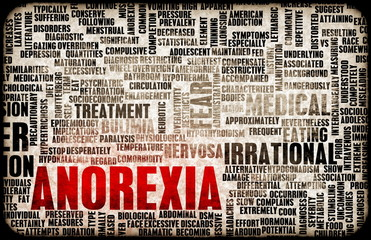 Anorexia Concept