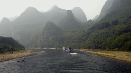 Li Jiang River, Yangshuo, Guilin, Guangxi, China