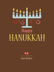 happy hanukkah; jewish holiday