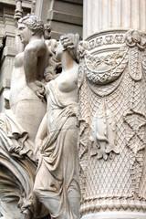 Marseille - Palais Longchamp (détail)