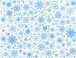 Vector frosty snowflakes background - 58694945