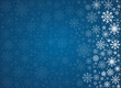 Vector frosty snowflakes background - 58694950