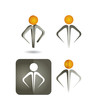 human resources  - Icon set